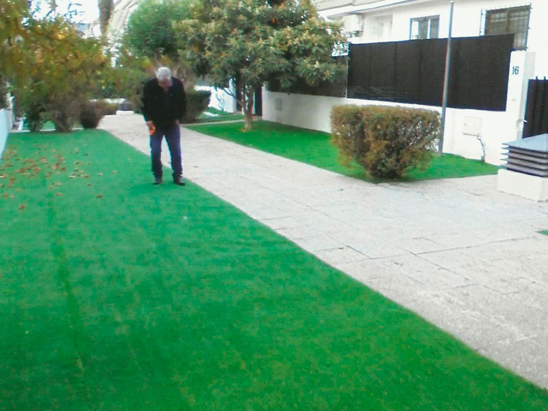 C sped natural y artificial agronsa - Cesped natural o artificial ...